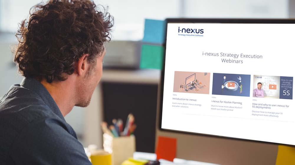 i-nexus Strategy Execution Webinars