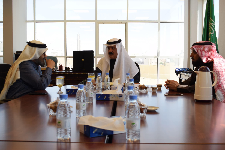 الإجتماع مع عضو مجلس الشورى السعودي بتاريخ 2018/01/29م