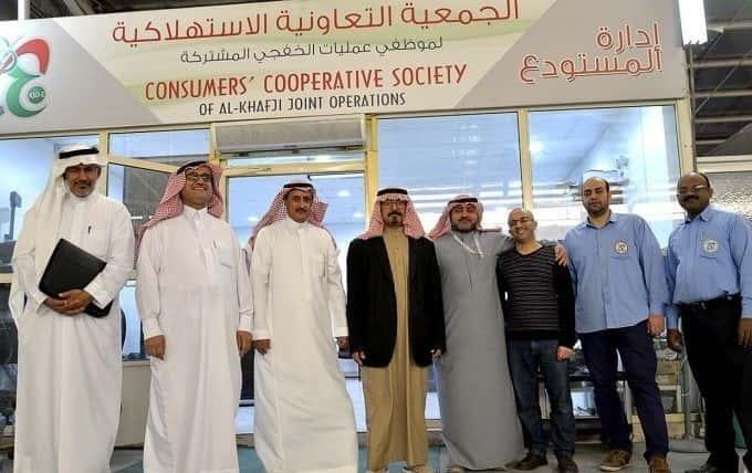 مساعد مدير عام التنمية الاجتماعية بالشرقية يزور الجمعية التعاونية الاستهلاكية لموظفي الخفجي
