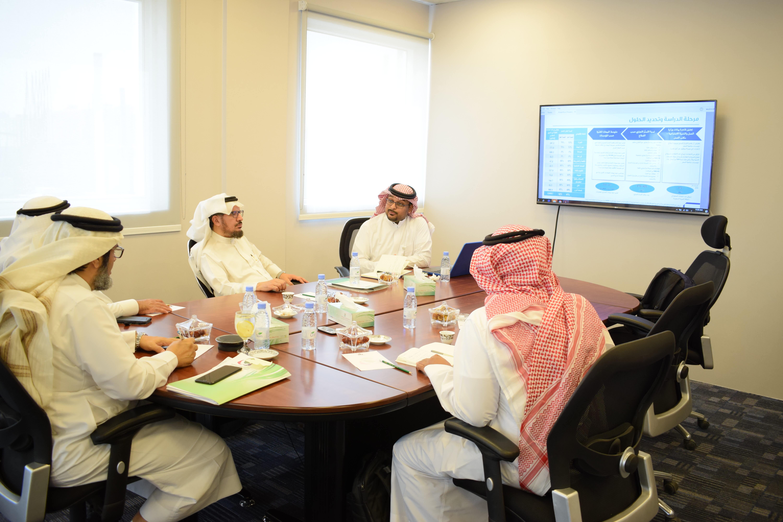 إجتماع مع الهيئة العامة للمنشآت الصغيرة والمتوسطة
