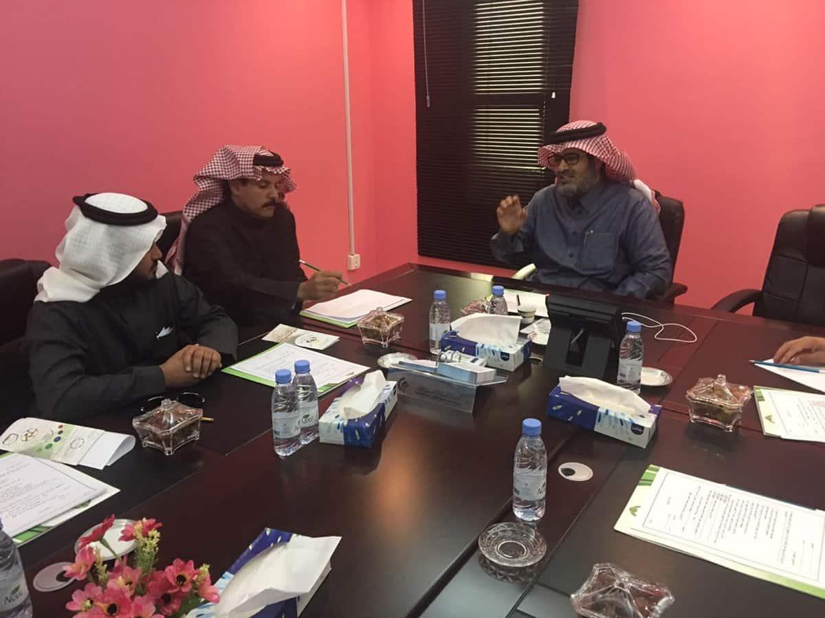 اجتماع مع مربي الماشية بالمملكة العربية السعودية بمقر المجلس