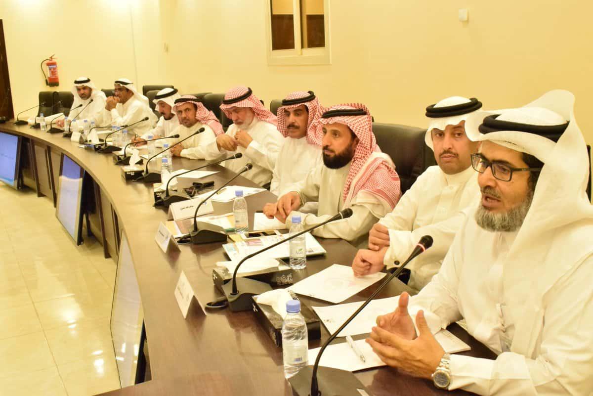 أعضاء مجلس الإدارة يلتقون بمسؤولي بنك التنمية لبحث سبل التعاون لمبادرة تمويل الجمعيات التعاونية