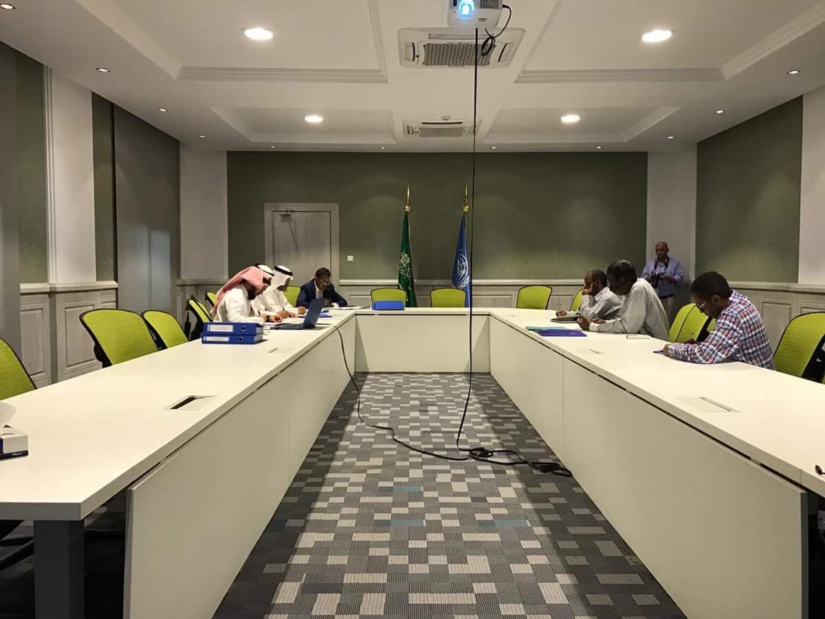 """""""الرئيس"""" يلتقي بمسؤولين منظمة الفاو بحضور أعضاء مجلس الإدارة"""