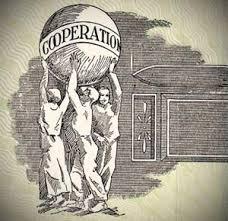 نشوء الحركة التعاونية في العالم