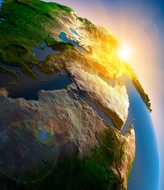 العلماء العرب والمسلمون وقياس محيط الأرض