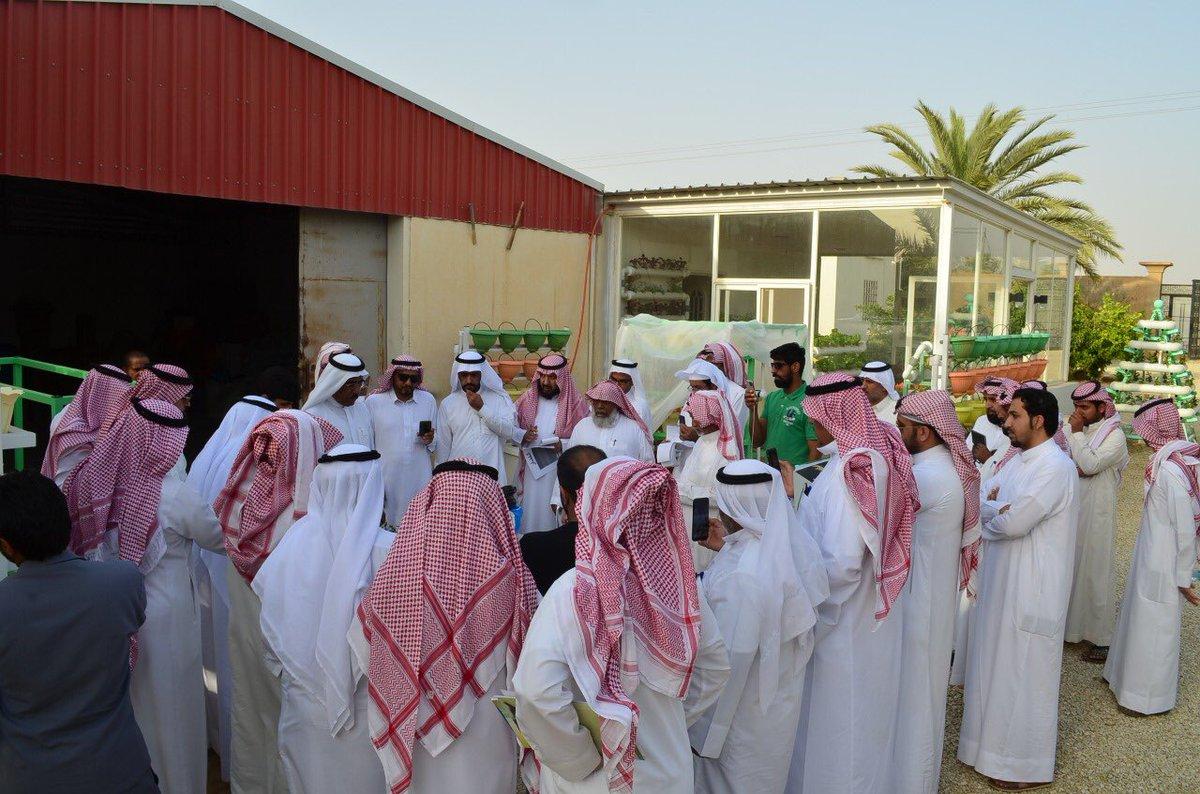 مركز الجمعية التعاونية الزراعية بعنيزة للتدريب الزراعي يختتم دورة (الزراعة المائية)