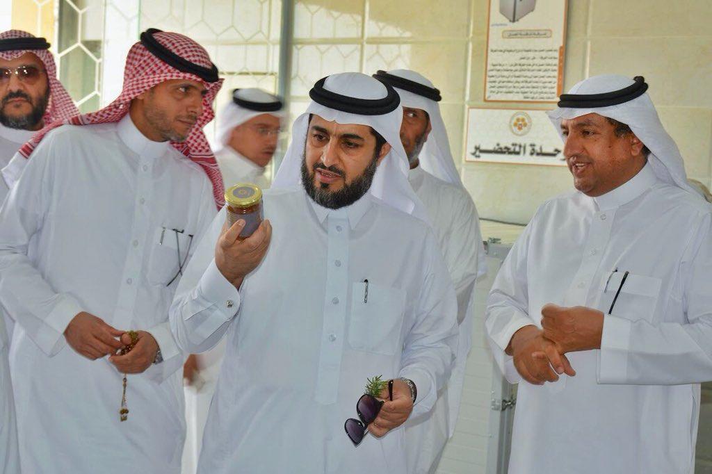 معالي نائب وزير البيئة يزور مقر جمعية النحالين التعاونية بالباحة
