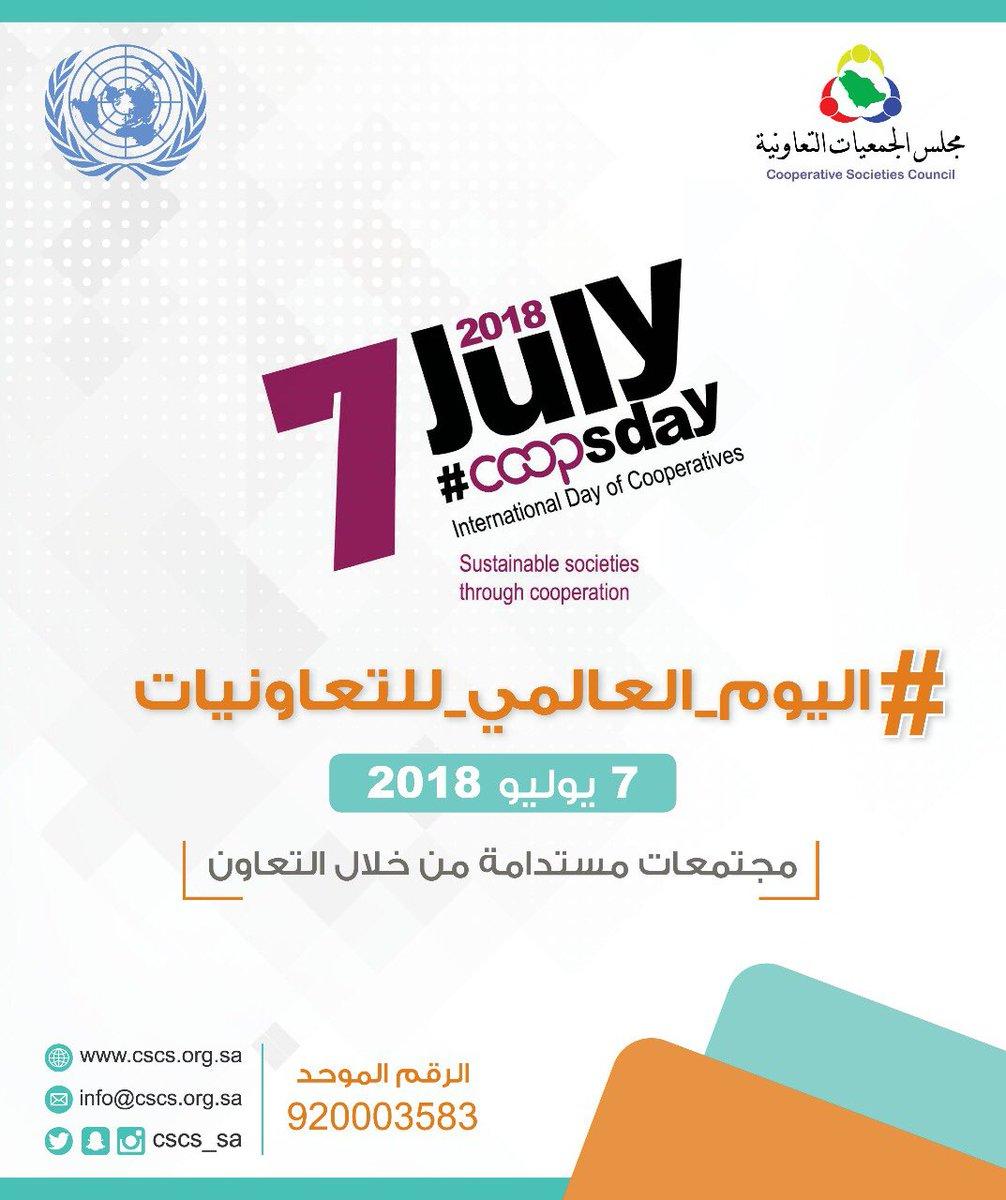 الأمم المتحدة تحتفي باليوم العالمي للتعاونيات