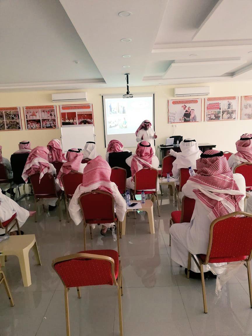 جمعية حائل الزراعية التسويقية تستضيف دورة (الجلوبال سعودي قاب)