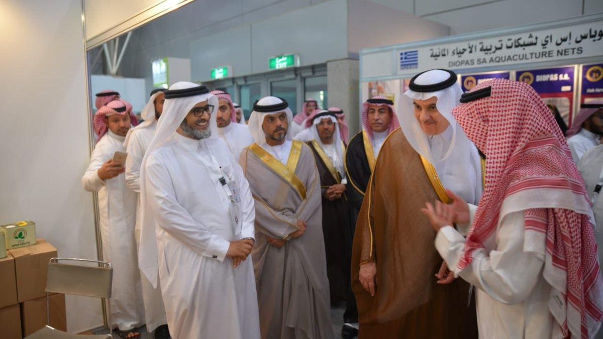 """وزير """"الزراعة"""" يزور جناح """"المجلس"""" في المعرض الزراعي السعودي"""