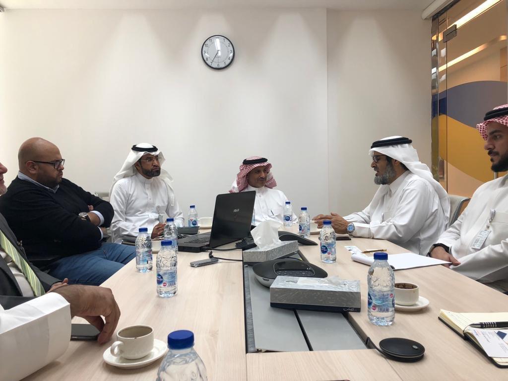 """""""المجلس"""" يلتقي بالمسؤولين في قطاع تطوير الأعمال بشركة سابك"""