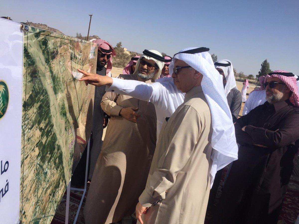 """معالي وزير """"الزراعة"""" يتفقد مشاريع الوزارة بمنطقة عسير والتي تأتي بتنفيذ """"المجلس"""""""