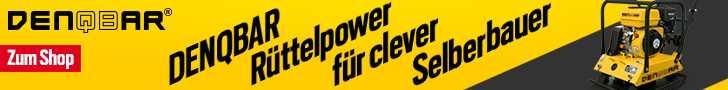 Rüttelplatte Slogan 728x90