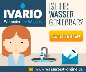Wassertest für Verbraucher