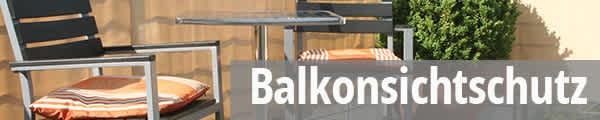 Balkonsichtschutz auf Maß