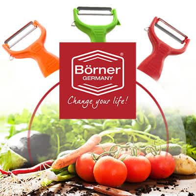 Praktische Küchenhelfer von Börner Germany - hier mehr erfahren!