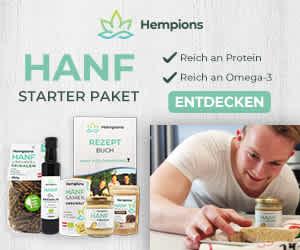 Hanf Starter Paket - 20% sparen - die gr��ten Highlights aus Bio Hanfsamen - Hempions