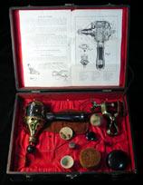 White Cross Electric Vibrator, Brass Version, c. 1910