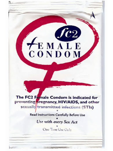 Safer Sex: Condoms & Gloves: Female Condoms: Reality Condom