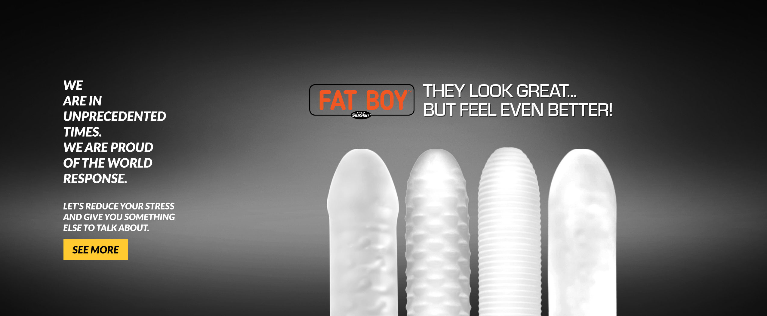 Fat Boy - They Look Great But Feel Even Better