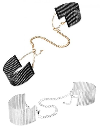 Metallic Desire Cuffs