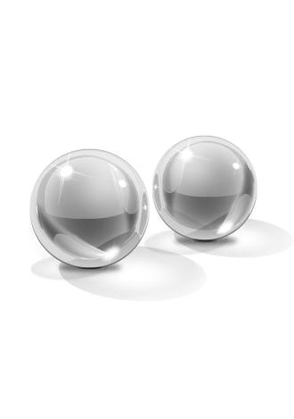 Icicles No. 42 - Medium Glass Ben Wa Balls