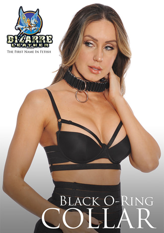 Bizarre Leather O-Ring Collar