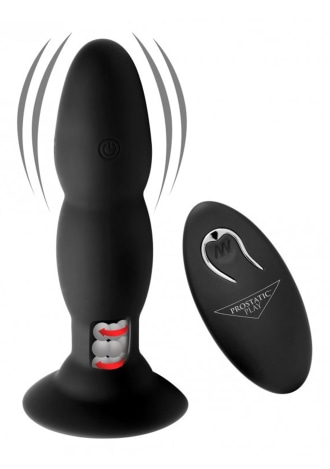 Prostatic Play Rim Master Rechargeable Vibrating Silicone Anal Plug