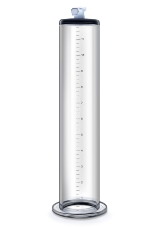 "Performance Pump Clear Cylinder - 12"" x 2"""