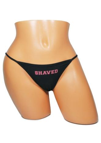 Evyl Thong - Shaved