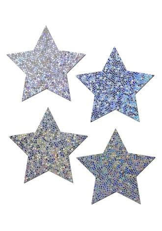 Petite Glitter Star Pasties