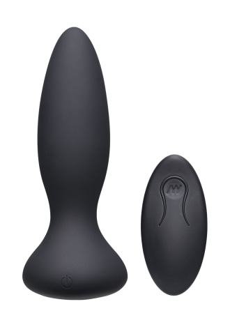 A-Play - Thrust - Rechargeable Silicone Anal Plug with Remote