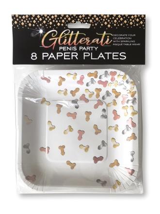 Glitterati Paper Plates