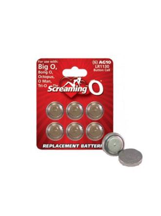 AG10 LR1130 Watch Batteries 6-Pack