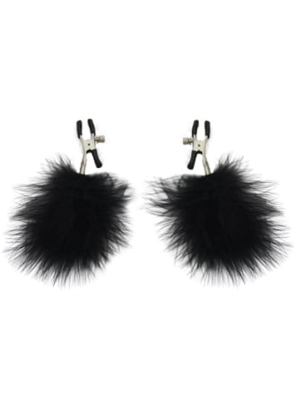 Flirty Feather Nipple Clamps