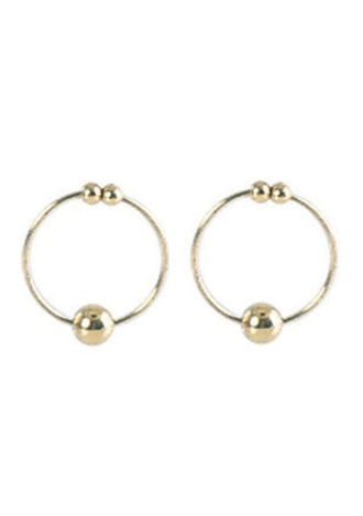 Nipple Rings - Gold