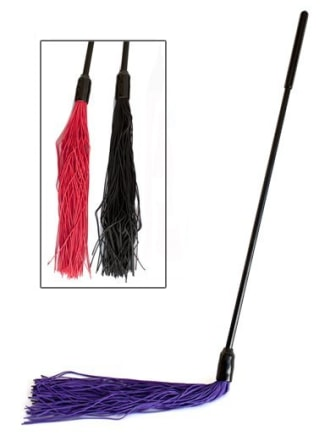 Devil's Hair Teaser Rubber Flogger