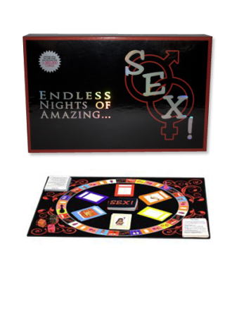 Sex! Erotic Couple's Board Game