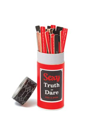 Sexy Truth Or Dare Pick-A-Stick Game