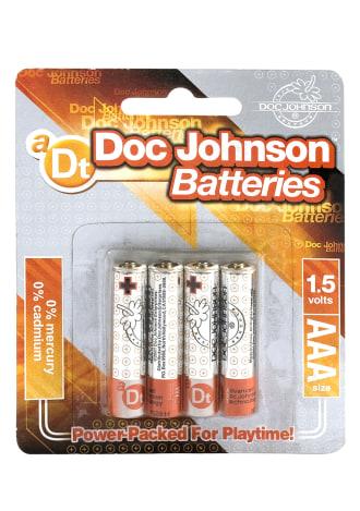Doc Johnson Batteries - AAA