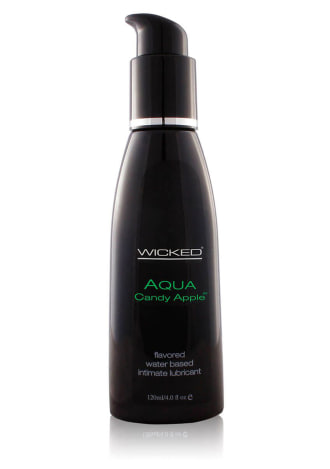 Wicked Sensual Aqua Candy Apple Water-Based Lubricant
