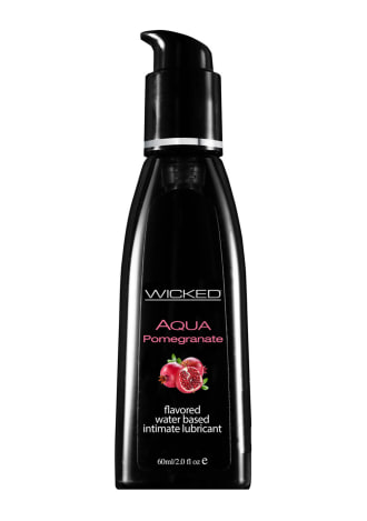 Wicked Sensual Aqua Pomegranate Water-Based Lubricant
