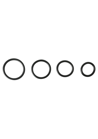 O-Ring Cock Ring 4-Pack