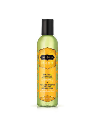 Coconut-Pineapple Natural Massage Oil - 8 oz.
