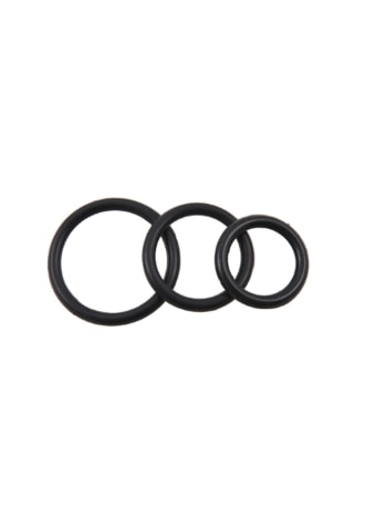 Silicone Cock Ring - 3 Pack Assorted