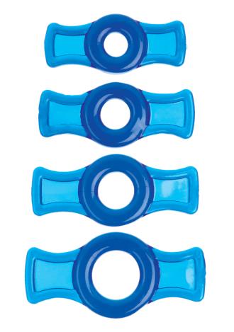 TitanMen® 4 Cockring Set
