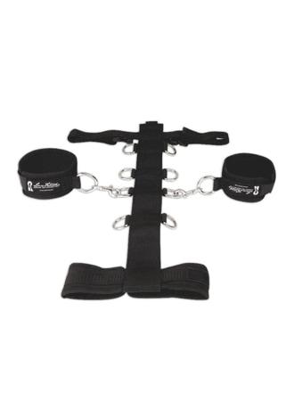 Unisex Adjustable Neck and Wrist Restraint Set