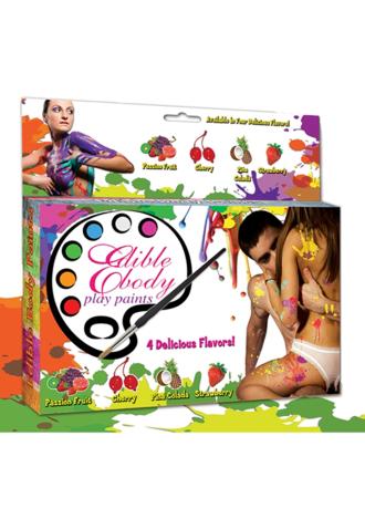 Edible Body Play Paint Kit
