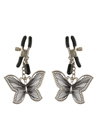 Beautiful Butterfly Nipple Clamps