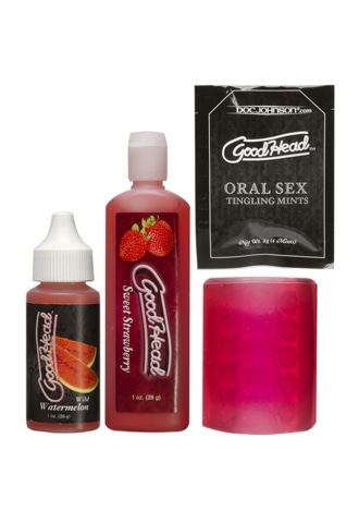GoodHead™ Fundamentals Ultimate Oral Sex kit